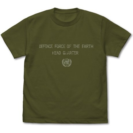 Earth Defense Force T-shirt Moss (S Size)