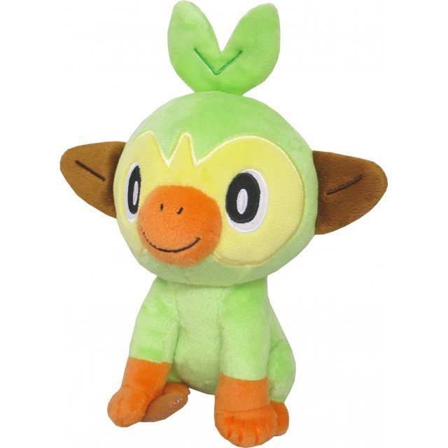 Pocket Monsters All Star Collection Plush PP149: Grookey (S)