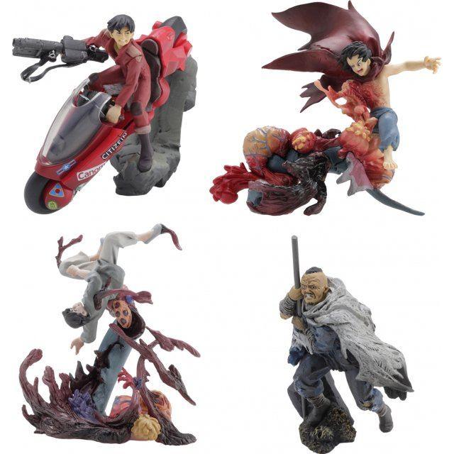 miniQ Akira Part. 4 Decisive Battle (Set of 6 pieces)