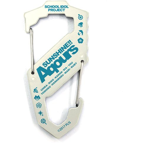 Love Live! Sunshine!! - Aqours Carabiner S Type White