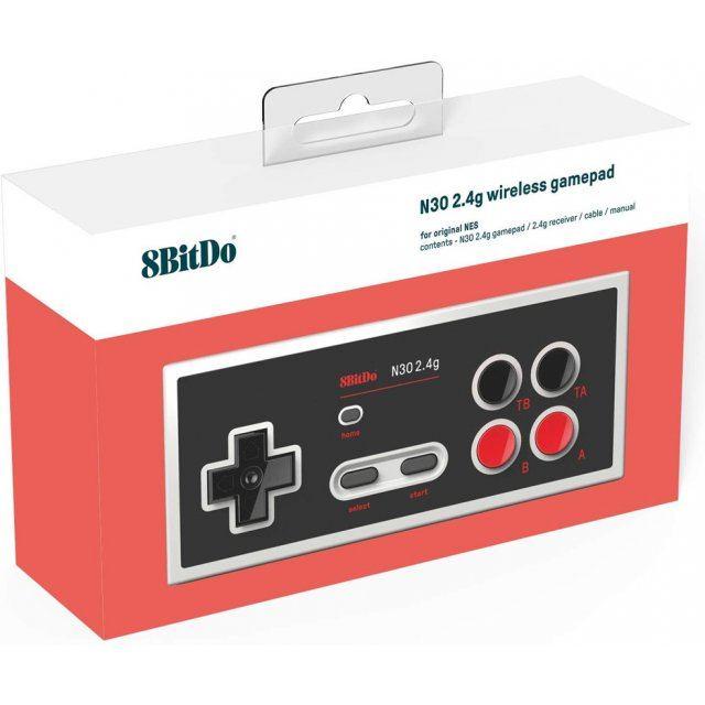 8Bitdo N30 2.4G Wireless Gamepad for Original NES