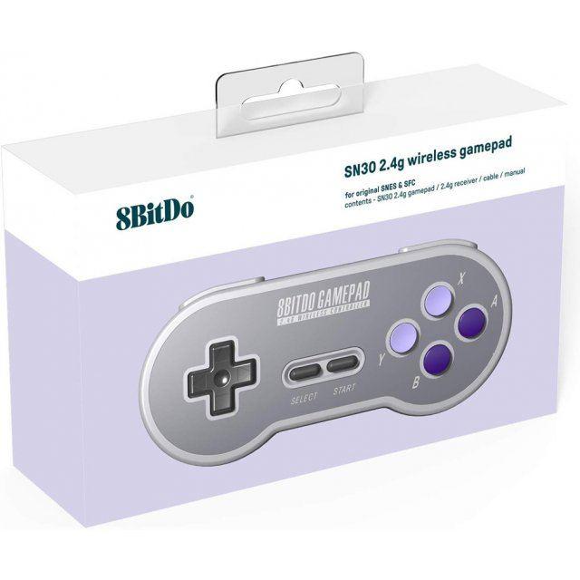 8Bitdo SN30 2.4G Wireless Gamepad for Original SNES / SFC (SN Edition)