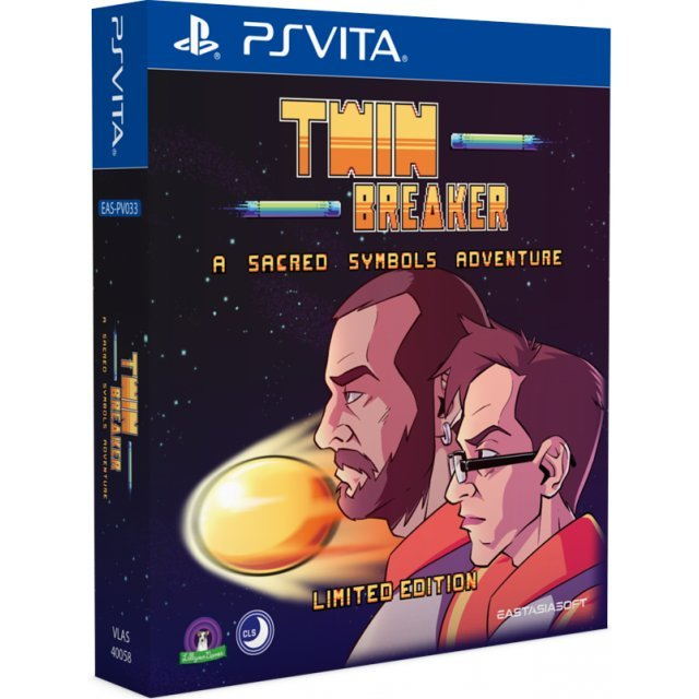 Twin Breaker: A Sacred Symbols Adventure [Limited Edition]