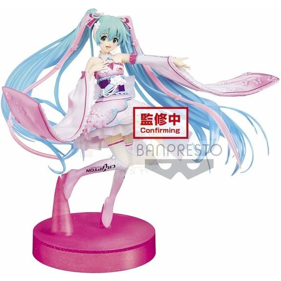 Good Smile Racing: Hatsune Miku Espresto Est Racing Miku 2019 Kimono Ver. Dress & Hair