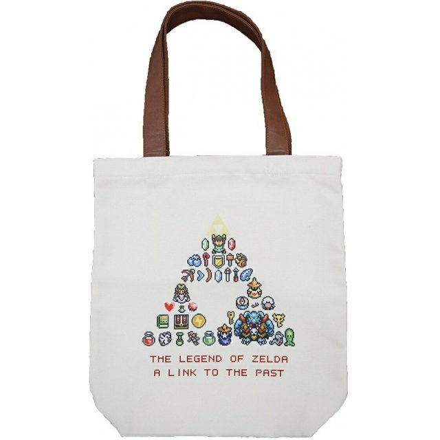 The Legend Of Zelda: A Link To The Past Tote Bag Dot Art