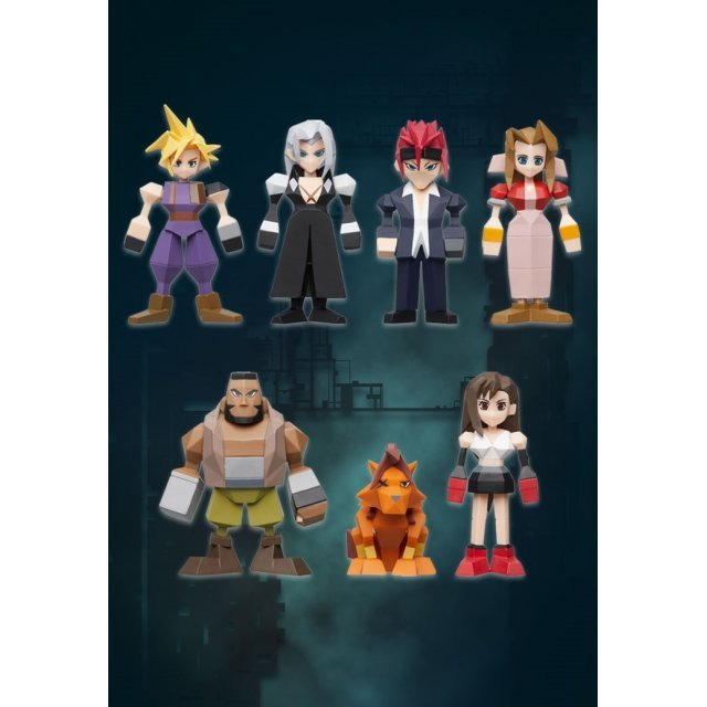 Final Fantasy VII Remake Polygon Figure Box (Set of 8 pieces)
