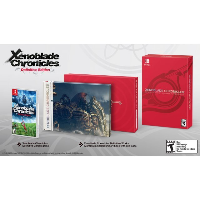 Xenoblade Chronicles: Definitive Edition (Definitive Works Set)