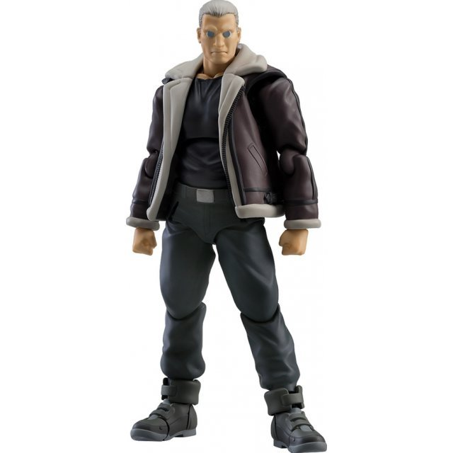 figma No. 482 Ghost in the Shell Stand Alone Complex: Batou S.A.C. Ver.