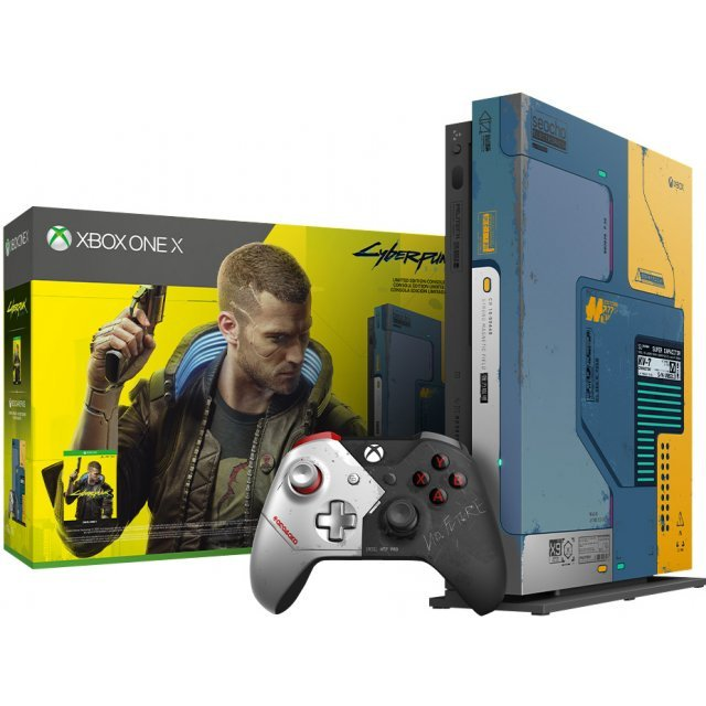 Xbox One X 1TB (Cyberpunk 2077 Limited Edition)