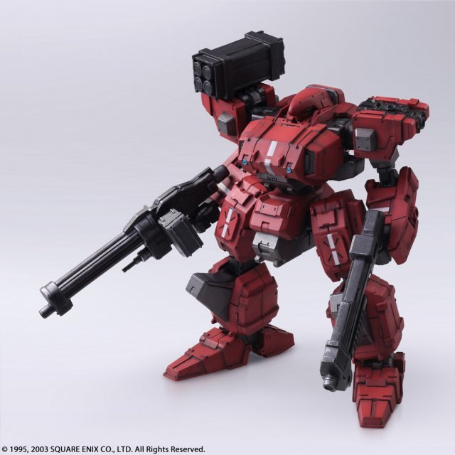 Front Mission 1st Wander Arts: Frost Hell's Wall Ver.