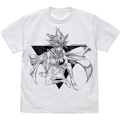 Yu-Gi-Oh! Duel Monsters - Atem T-shirt White (L Size)
