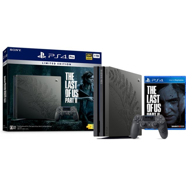 PlayStation 4 Pro 1TB HDD (The Last of Us Part II Limited Edition)