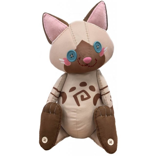 Monster Hunter World Iceborne Plush: Airou Doll