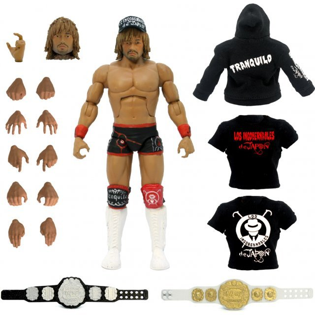 New Japan Pro-Wrestling Ultimate 7-inch Action Figure: Tetsuya Naito