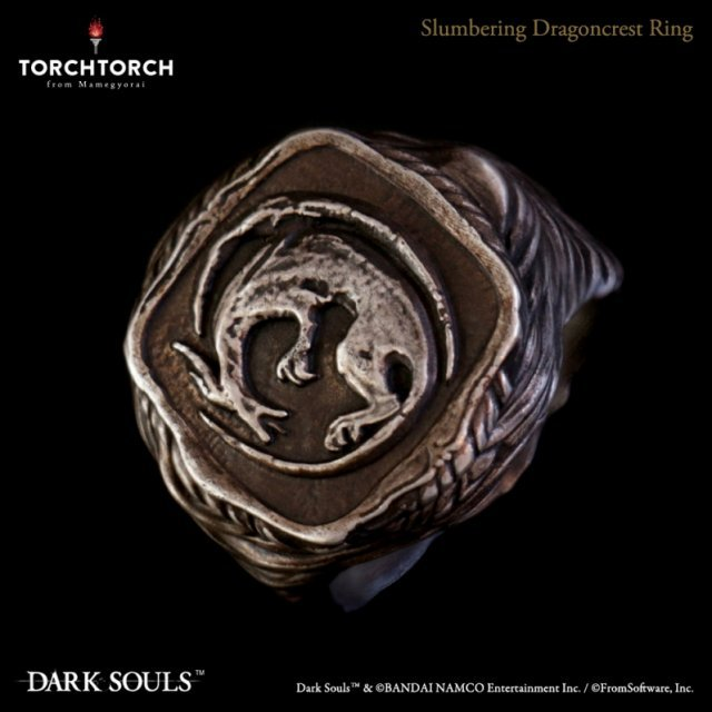 Dark Souls × TORCH TORCH Ring Collection: Slumbering Dragoncrest Men's Ring (No. 21)