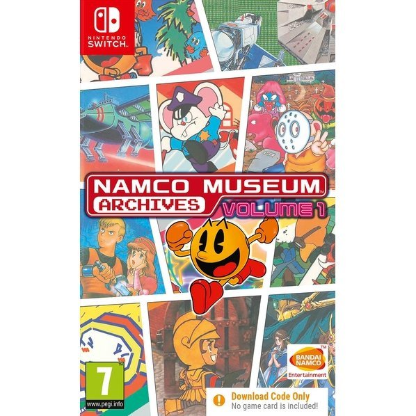 Namco Museum Archives Vol. 1 (Code in a Box)