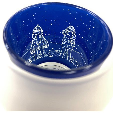 Yuru Camp Silhouette Candle Glass: Starry Sky