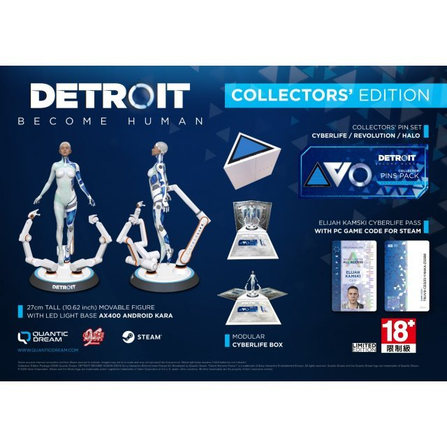 Detroit: Become Human [Collector's Edition] (Multi-language) (Code in a Box)