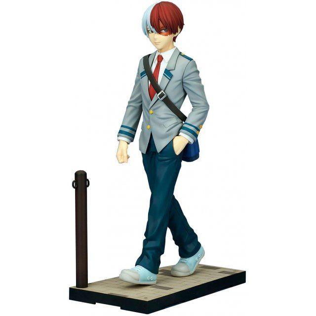 My Hero Academia ConneColle 1/8 Scale Pre-Painted Figure: Shoto Todoroki School Uniform Ver.