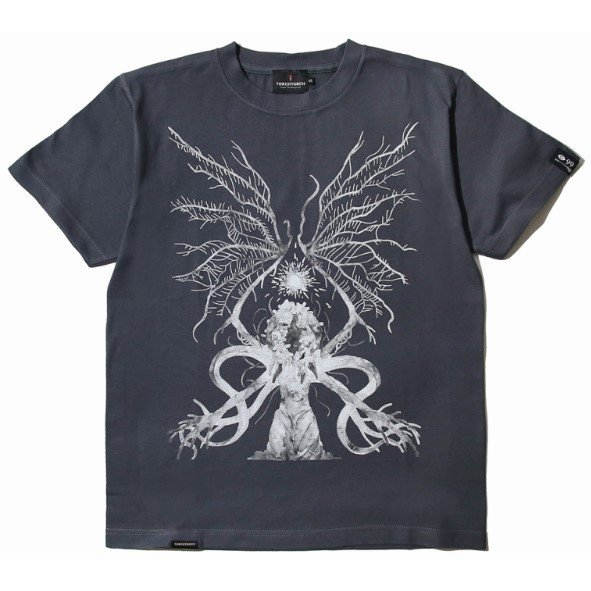 Bloodborne Torch Torch T-shirt Collection: Ebrietas, Daughter Of The Cosmos Deep Gray (M Size)