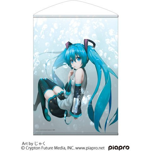 Hatsune Miku B2 Wall Scroll Jaku Ver.