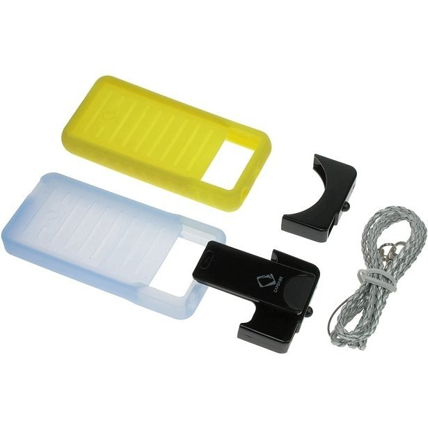 Capdase Soft BiB Set (Tinted Blue/Yellow) iPod Nano