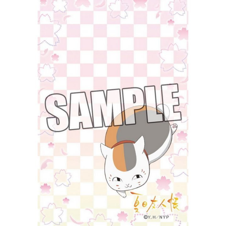 Broccoli Mail Block for iPhone Natsume Yujincho [Nyanko-sensei Cherry Blossom]
