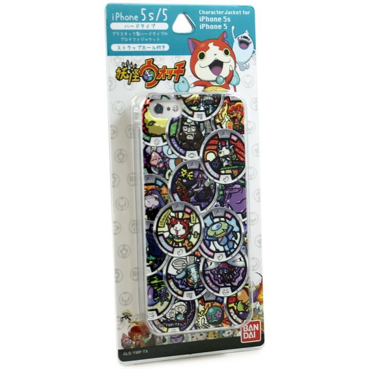 gourmandise Youkai Watch iPhone 5/5S Character Jacket: Medal YW-05C