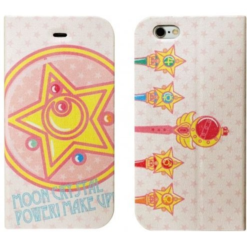 gourmandise Sailor Moon iPhone 6 Flip Case Magnet Type Transformation Item SLM-33A