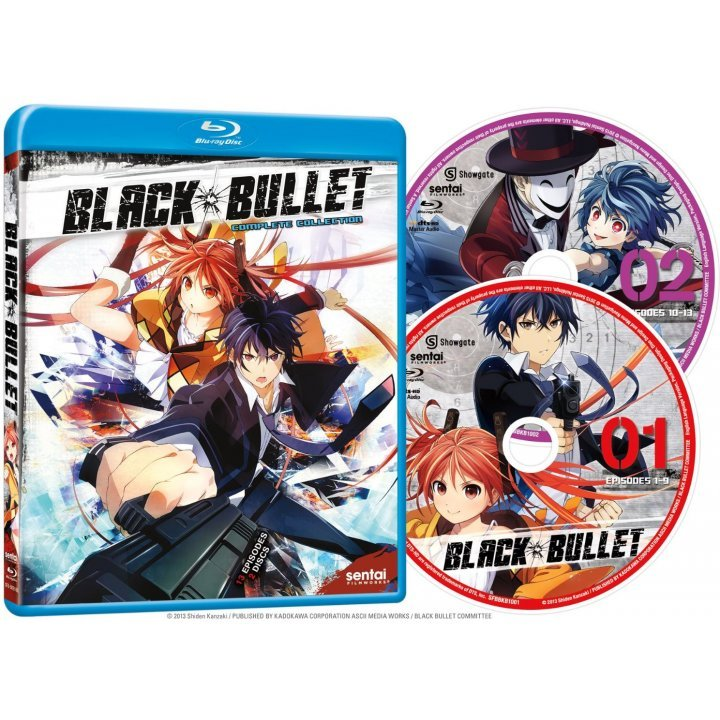 Black Bullet: Season One Complete Collection