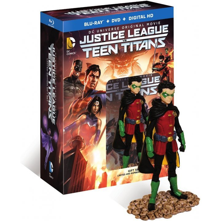 Justice League vs Teen Titans (Deluxe Edition) [Blu-ray+DVD+Digital HD]