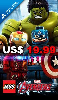 美版 LEGO Marvel's Avengers 適用於 PlayStation Vita (PS Vita)
