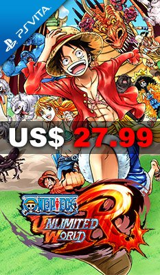 One Piece: Unlimited World Red 適用於 PlayStation Vita (PS Vita)
