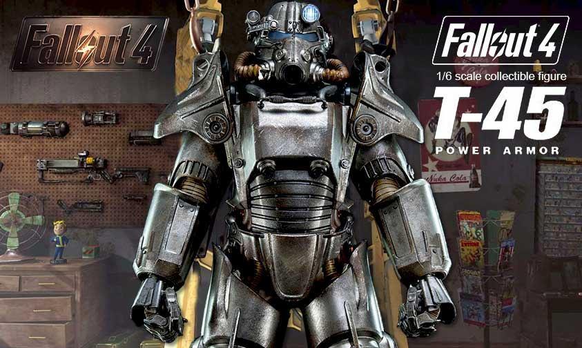 Collector S Club Threezero Fallout 4 1 6th Scale T 45