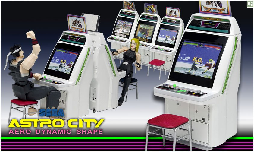 An Arcade Machine For Your Figures!