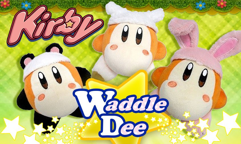 Waddle Dee Cosplay Plushes