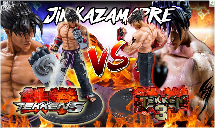 collector s club 1 4 scale jin kazama statue from tekken 3 and