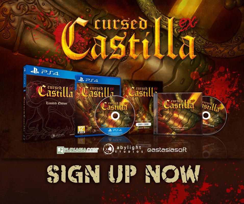 Cursed Castilla EX Limited Edition PS4 GA.05159.0004