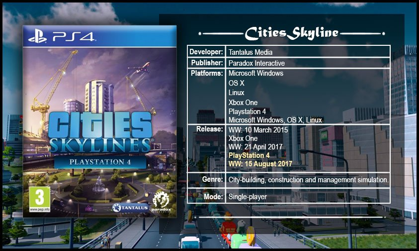 create big cities of your dreams with cities skylines pre order now