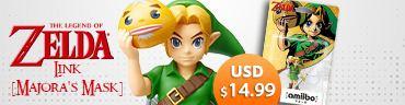 amiibo The Legend of Zelda Series Figure (Link) [Majora\'s Mask]