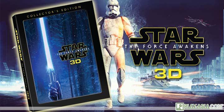 Star Wars: The Force Awakens 3D+2D+Bonus [3-Disc Steelbook]