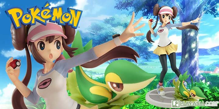 ARTFX J Pokemon Series 1/8 Scale Pre-Painted Figure: Rosa with Snivy