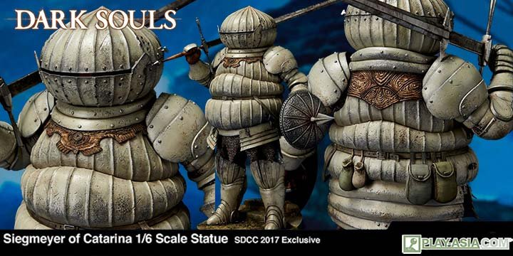 Dark Souls 1/6 Scale Statue: Siegmeyer of Catarina