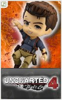 Nendoroid No. 697 Uncharted 4 A Thief\'s End: Nathan Drake Adventure Edition