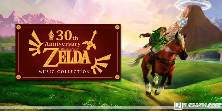 30th Anniversary Edition The Legend of Zelda: Game Music Collection