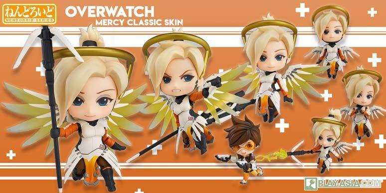 Nendoroid No. 790 Overwatch: Mercy Classic Skin Edition