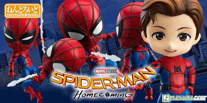 Nendoroid No. 781 Spider-Man: Homecoming Edition